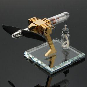 Flygplansvärmotor Motoreffektgenerator Motor Innovativ Stirling Engine Science Leksaker Ny version