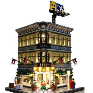 LED Ljus Utrustning för Lego 10211 Skapare Stor Varuhus Blocks Tillbehör Leksaker Dekor