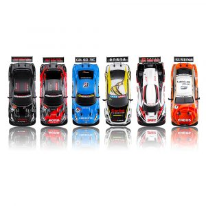 1/16 2.4G 4WD Drift Stunt Racing Höghastighetsdrift RC Car Children Outdoor Spel Leksaker