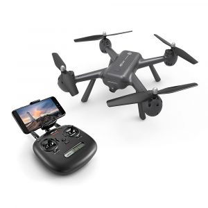 FPV Drönaremed 1080P-kamera,GPS Följ mig-läge, MJX X-SERIES X104G 5G MIFI FPV  RC Quadcopter RTF Tre Batterier