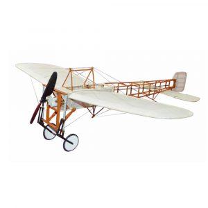 Bleriot XI 420mm Wingspan Wooden RC Flygplan Flygplan Fast Wing KIT / KIT + Power Combo