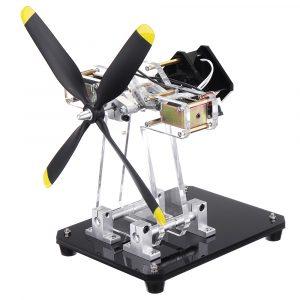 STARK-79 Hall Sensor Motormodell Digital Magnetic Levitation Kollisioner Två Coil Hall Motor