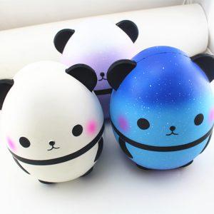 Giant Squishy Panda Egg 25cm långsam Rising Humongous Jumbo Leksaker Present Decor