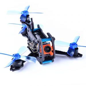 Awesome Dragonfly 110 Y4 110mm RC FPV Racing Drone W / Omnibus F3 OSD BLheli_S 10A 25mW 48CH 600TVL