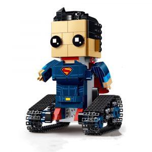 MoFun DIY 2.4G 4CH Elektronisk RC Smart Robot Blockbyggnad Monterad Robot Toy Gift