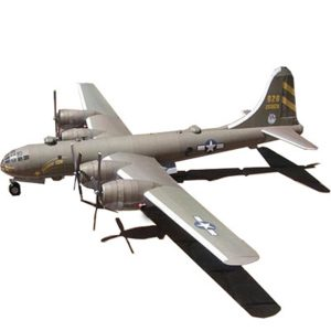 1:47 Boeing B-29 SuperFortress bomber Bombardment Flygplan Paper Pussel Plane Toy Model Kit