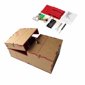 Useless Box DIY Kit Useless Machine Födelsedag Gåva Toy Geek Gadget Fun Office Hem Desk Decor