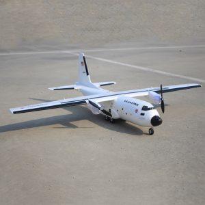 C-160 Cargotrans Twin Hercules 1120mm Wingspan EPOS Warbird Transport RC Flygplan PNP