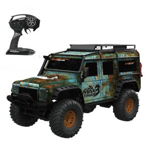 HB Leksaker ZP1001 1/10 2.4G 4WD Rc Rallybil Proportionell Styrning Retro Vehicle w / LED Light RTR Modell