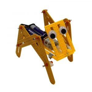 DIY Elektrisk Krypande Robot Hund Modell Vetenskap Teknologi Experimentera Kreativ leksaker Utrustning