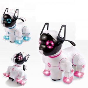 Elektriska husdjur Singing Dancing Robot Hundar med musik för barn Barn Roliga spel Spela leksaker Present