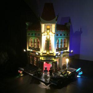LED- ljuskit för LEGO 10232 Palats Bio Skapare Expert Belysning Uppsättning- blockera Tillbehör Leksaker