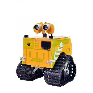 Xiao R Wuli Bot Scratch STEAM Programmeringsrobot APP Fjärrkontroll Arduino UNO R3 för barnstudenter