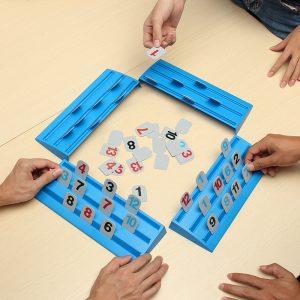Magic Bridge Skrivbordsspel Mahjong pussel för barn barnleksaker