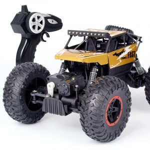 Dadgod 1/18 2.4G 4WD Racing RC Bil High Speed Rock Crawler Bigfoot Climbing Truck Toy