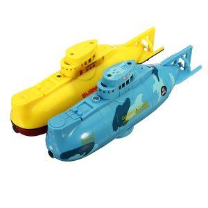 6CH Hastighets Radio Fjärrkontroll Elektrisk Mini RC Ubåt Båt Barn Barn Leksak