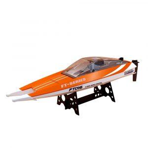 Feilun FT016 47CM 2.4G 4CH Rc Båt 540 Borstad 28km / h Hög hastighet med vattenkylsystem Toy
