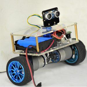 DIY STEAM Arduino UNO Smart RC Robotbalans bilundervisningssats
