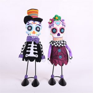 45cm Halloween Fylld Plush Toy Party Decoration Skelettdocka