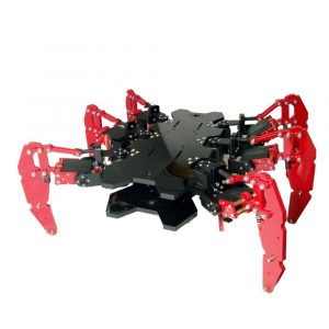 DIY 6-Legs Robot Spider STEAM Educational Kit Robotsats för Arduino
