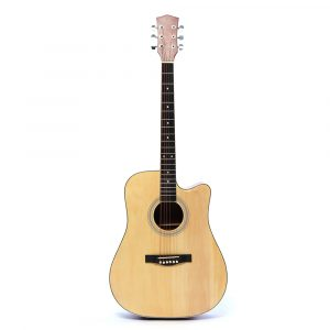 41 tums Basswood Acoustic Guitar Classical Folk Full-Size Musical Instrument