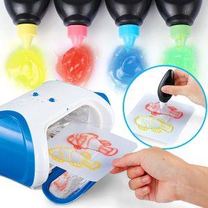 DIY 3D Magic Maskinskrivare Upplyst Måla Rita Barn Utveckling Toy Gift