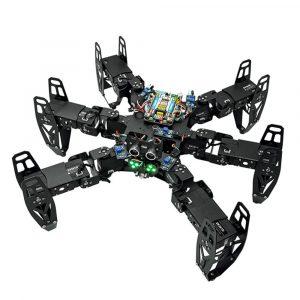 ZL-TECH QF-6 6-legged Arduino DIY RC Robot APP Stick Control Hindring Undvik Utbildnings Kit