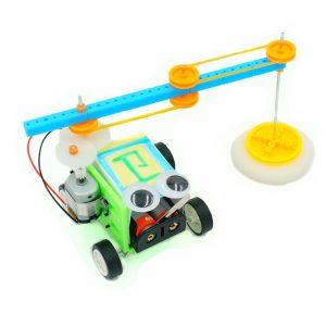 DIY Floor Mopping Robot Elektrisk svepande Robot Toy sammansatt leksak för barn