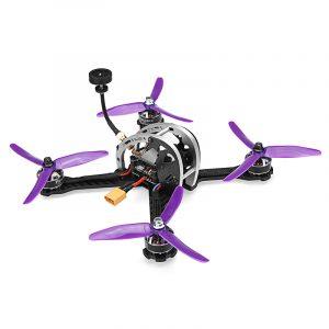 Realacc Real5 215MM FPV Racing Drone PNP Omnibus F4 30A Blheli_S ESC 25/200 / 600mW VTX 800TVL-kamera