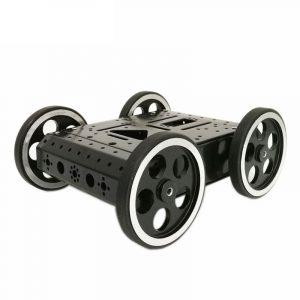 4WD C3 DIY Smart Robot Car Chassis Kit med DC 12V Motor för Arduino