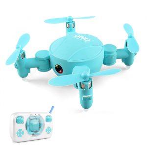 DHD D4 Mini Pocket Drone WIFI FPV Med 720P Kamerahöjdläge RC Drone Quadcopter