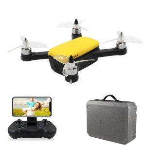 FPV Drönare med 1080p HD kamera,FUNSKY 913 GPS 5G MiFi , Höjdhållningsläge Borstlös RC Drönare Quadcopter RTF Vit
