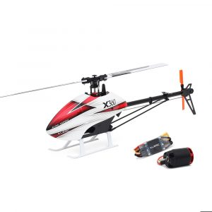 ALZRC X360 FBL 6CH 3D Flying RC Helikopter Kit med 2525 Motor V4 50A Borstlös ESC Standard Combo