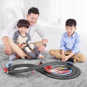 1:52 Spår Leksaker Hantera Fjärrkontroll Bil Toy Race Car Kid Utvecklingsleksak