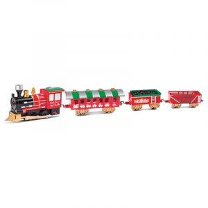 Jul tåg spår leksaker elektriska sömmar tågspår med ljus och musik effekt