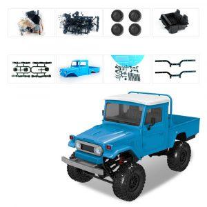 MN Modell MN45 KIT 1/12 2.4G 4WD Rc Bil utan ESC-sändarmottagare