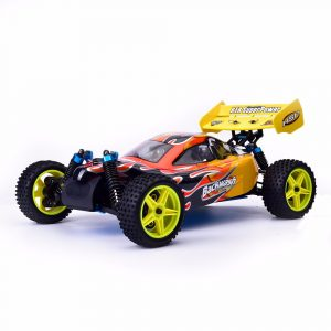 HSP Baja 94166 1/10 2.4G 4WD 400mm Rc Car Backwash Buggy Terrängbil med 18cxp Motor RTR Toy