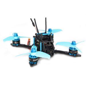 HGLRC XJB-145 145mm F4 OSD Micro FPV Racing Drone BNF med Kompatibel Flysky A8S V2-mottagare AURORA HD FPV-kamera