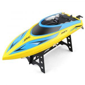 JJRC S2 Shark 2.4GHz 2CH 25KM / h Höghastighets Mini Racing RC Båt RTR