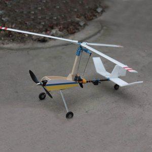 Ny Luobo V2S Dual Operation Autogyro Gyroplane Flygplansmodell KIT