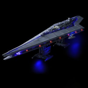 LED Light Kit för Lego 10221 Star Wars Super Star Destroyer Building Model Blocks Leksaker