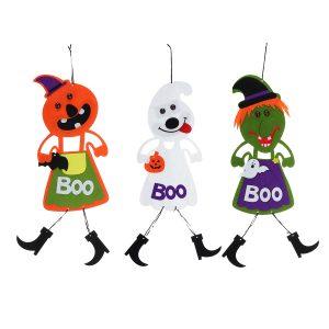 Halloween hängande tecken livlig färg dörrhängare för hemmadörren köpcentrum bar dekorationer