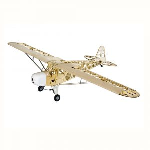 Dancing Wings Hobby Piper J3 Cub 1800mm Wingspan Balsa Wood Laser Cut RC Airplane Kit