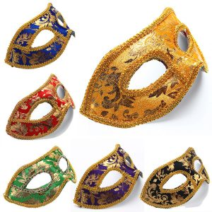 Party Eye Costume Mask Costum Mardi Masks Maskeradbollmasker