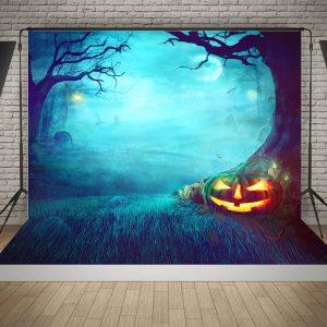 5x7FT Halloween Graveyard Studio Photography Bakgrund Fotograf Prop
