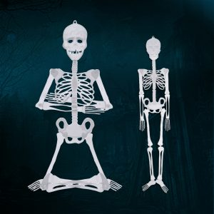 90 cm / 150 cm Halloween Prop Luminous Human Skeleton Hanging Decorations