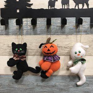 Halloween Pumpkin Cat Ghost Doll Cloth Plush Toy Club Hem Utsökt dekorgåva