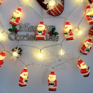 1,5 M / 3M LED julklappstrålkastare LED fe-lampor för julfest dekoration