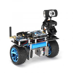 Xiao R STM32 Self-Balancing Smart Roly RC Robot Car Wifi Video Module APP Control Finished Version