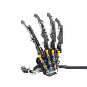 DIY 5DOF Robotarm fem fingrar metall mekanisk tass vänster och höger hand